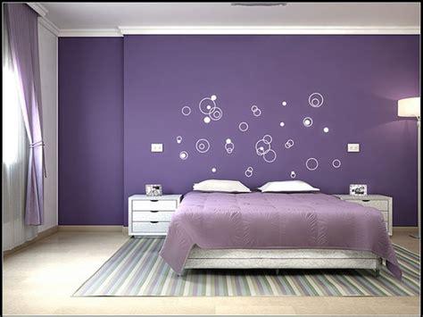 Bedroom  Simple Purple Bedroom Ideas Chic Style Purple