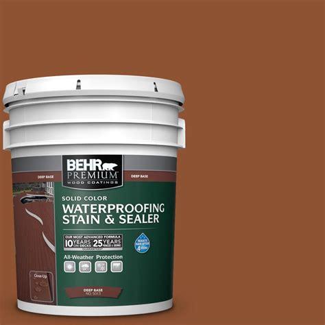 behr premium  gal sc  redwood naturaltone solid