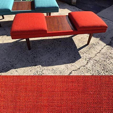 orange ottoman coffee table 52 quot orange mid century modern coffee table ottoman with