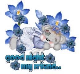 Animated Good Night Glitter Graphics