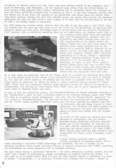 STARLOGGED - GEEK MEDIA AGAIN: 1981: SPACE CITY ARTICLE ...
