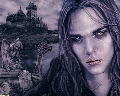 Vampire Fantasy Gothic Horror Vampires Artwork Wallpapers