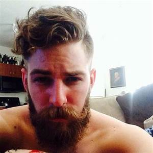 hipster haircut with beards