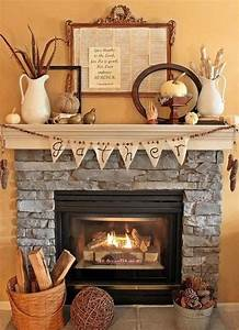 15 fall decor ideas for your fireplace mantle With the various fireplace decor ideas