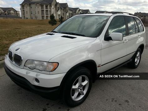 2003 bmw x5 3 0 alpine white
