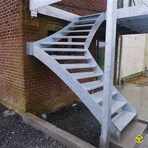Escalier Exterieur Metal : escalier ext rieur et terrasse m talliques menuiserie ~ Voncanada.com Idées de Décoration