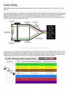 Trailer Light Wiring Diagram 4 Wire - Database