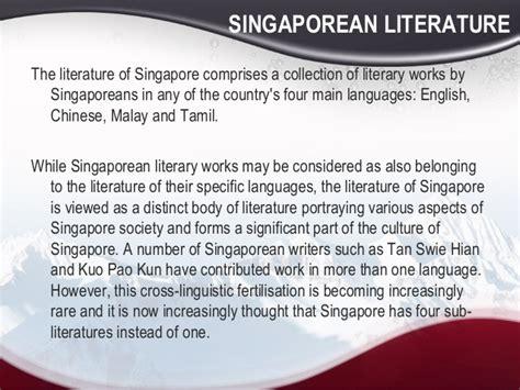 singaporean literature