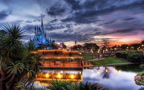 Disneyland Desktop Backgrounds by Disney World Landscape Desktop Wallpapers Top Free