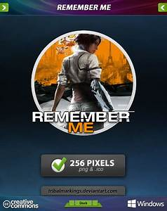 Remember Me Icon by KillboxGraphics on DeviantArt