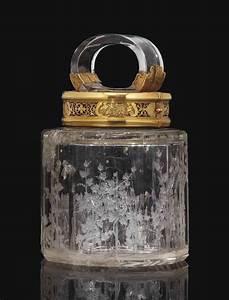 Pot A Couvert : pot couvert en or et cristal de roche le cristal de roche attribue a ferdinand eusebio ~ Teatrodelosmanantiales.com Idées de Décoration