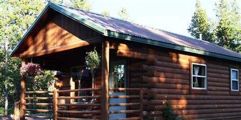 Cabins Near Glacier National Park