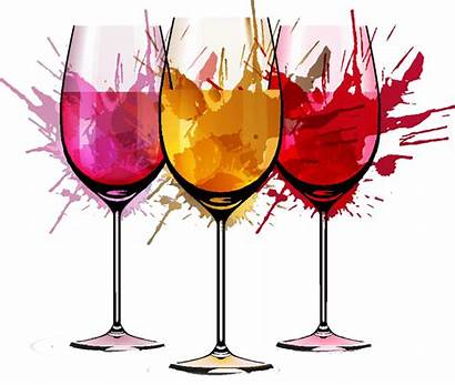 Wine Watercolor Vector Cup Painting Material Glass