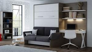 Sofa Hersteller Deutschland : wandbett mit sofa wbs 1 soft office 160 x 200 cm eiche anthrazit ~ Watch28wear.com Haus und Dekorationen