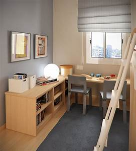 Design Ideas Small Floorspace Kids Rooms Grey Brown ...