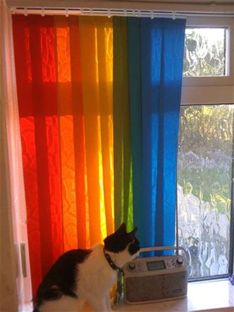 vertical blinds rainbow blinds different coloured vertical
