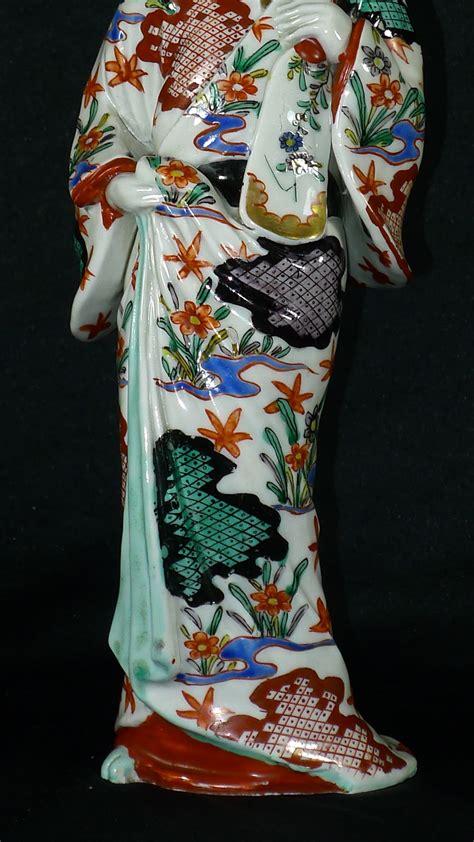 Antiques Atlas - Early 19th C Japanese Imari Geisha