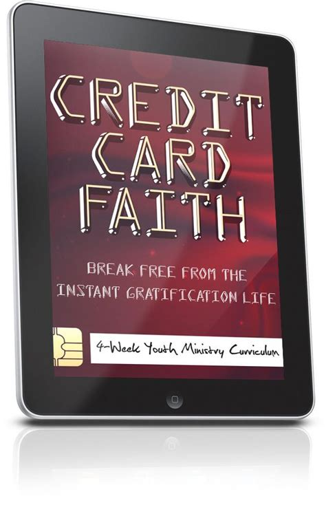 Unfortunately, a ten year old is not able to get their own shiny credit card. FREE Credit Card Faith Youth Ministry Lesson