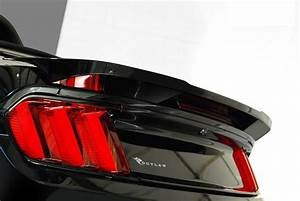 2015-2017 Ford Mustang Outlaw Rear Decklid Spoiler