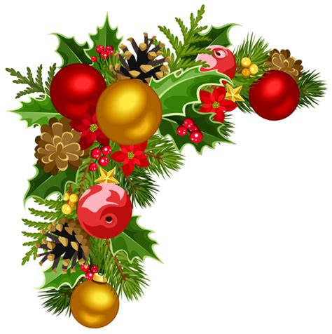 christmas ornament border clipart  clipground