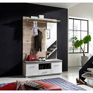 Garderobe Holz Weiß : garderobe in wei silbereiche online kaufen m max ~ Frokenaadalensverden.com Haus und Dekorationen