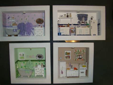roombox quadros miniaturas de ambientes marjorie alcazar arte design elo7