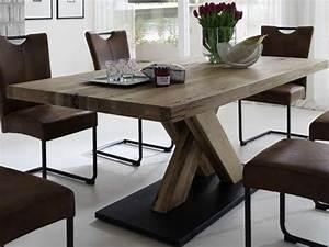 Esstisch Massivholz Günstig : niehoff massivholztisch 4173 in balkeneiche super g nstig ~ Watch28wear.com Haus und Dekorationen
