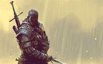 Geralt Rivia 4k Widescreen Witcher