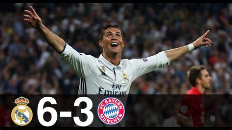 Real Madrid vs Bayern Munich 6-3 - All Goals & Highlights ...