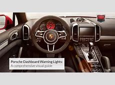 Porsche Dashboard Warning Lights A comprehensive visual guide