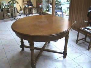 Table Salle A Manger Ronde : table ronde pour salle a manger haute normandie ~ Teatrodelosmanantiales.com Idées de Décoration
