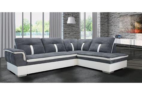 décoration canapé canapé d 39 angle marion microfibre design
