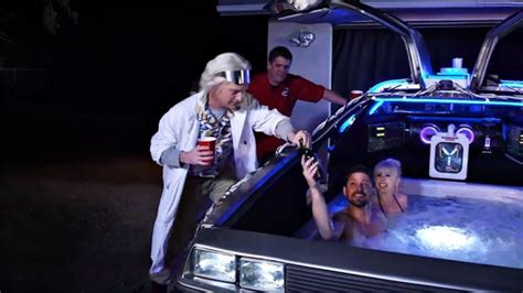 what year did tub time machine come out delorean time machine turned into a tub is insanely