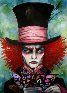Hutmacher Alice Im Wunderland : mad hatter by pixiecold arts culture hutmacher ~ Watch28wear.com Haus und Dekorationen