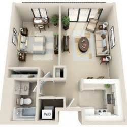 Garage Apartment Layouts Ideas by Best 25 1 Bedroom House Plans Ideas On Guest