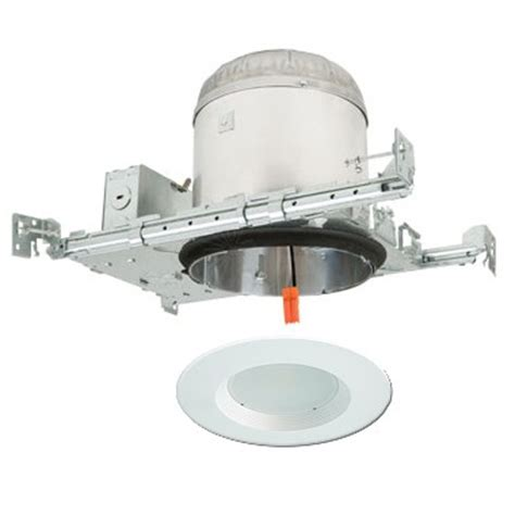 led can lights new construction 6 quot led recessed lighting kit new construction ic at