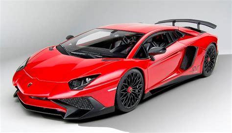 Lamborghini Aventador Sv In Red In 1