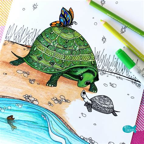 what color are the turtles quot turtles together quot turtle coloring page for adults arts