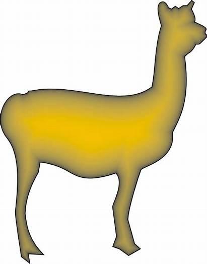 Llama Clip Alpaca Clipart Camel Clker Svg