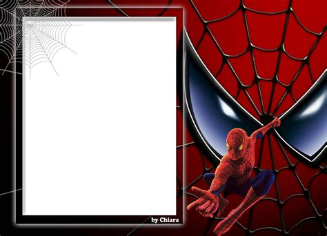 chiara molduras digitais moldura do homem aranha