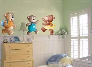 Autocollant Chambre Bébé : stickers chambre bebe ourson ~ Melissatoandfro.com Idées de Décoration