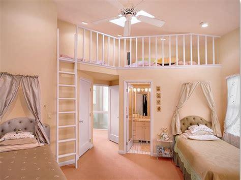 The Bedroom Of Teenage Girls  Interior Home Design