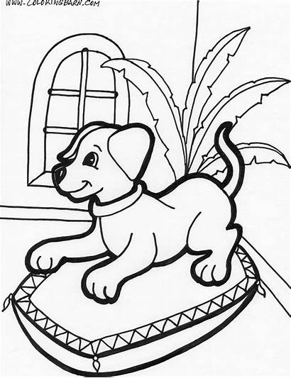 Puppies Coloring