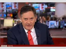 BBC News presenter Simon McCoy amuses viewers with surfing