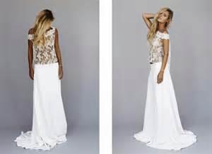 robe de mariã e chetre chic robe de mariée hippie courte
