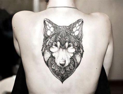 Tatouage Loup Femme  Connotations Et 40 Idées Sur Les