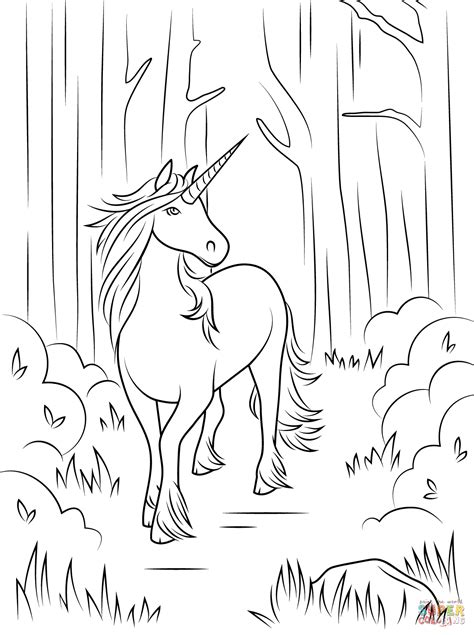 unicorn coloring pages coloringrocks