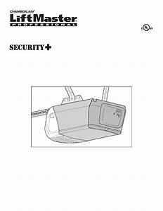 Liftmaster 3255 Owner U0026 39 S Manual