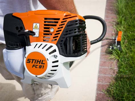 stihl edger 91 fc string trimmer shaft curved edgers trimmers fc91 professional tool