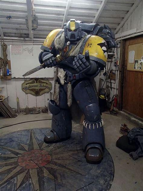 space wolf cosplayers warhammer